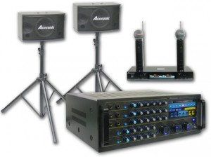 Karaoke Vocal Sound Equipment